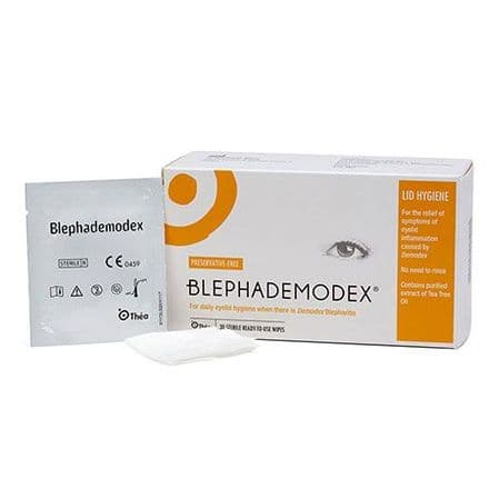Blephademodex Box Of 30 Wipes