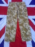 ## NEW ## BRITISH ARMY MILITARY WINDPROOF DESERT COMBAT TROUSERS