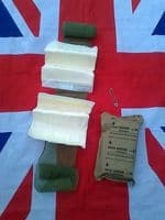 ## NEW ## MILITARY BANDAGE AND DRESSING & SAFETY PIN