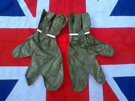 ## NEW ## MILITARY OLIVE GREEN WATERPROOF OVER  MITTS