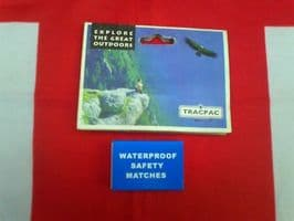 ## NEW ## TRACPAC WATERPROOF SAFETY MATCHES
