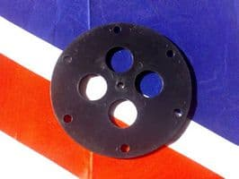 CLANSMAN RADIO RACAL ARIEL MOUNT PLASTIC BASE PLATE