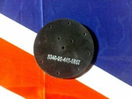 CLANSMAN RADIO RACAL ARIEL MOUNT RUBBER INSERTION PLATE