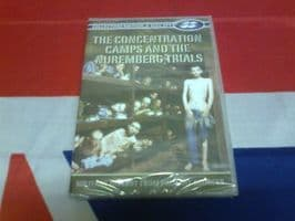 COLLECTORS EDITION 2 DISC SET THE CONCENTRATION CAMPS & THE NUREMBERG TRIALS
