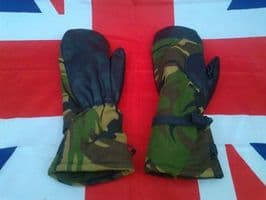 EX ARMY MILITARY DUTCH GORTEX LINED EXTREME COLD MITTENS