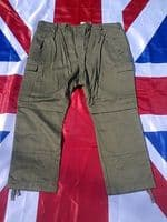 EX ARMY MILITARY GERMAN GREEN  COMBAT TROUSERS