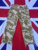 EX ARMY MILITARY TROPICAL DESERT CAMO TROUSERS