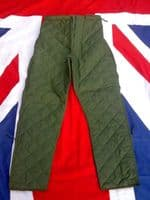 EX BRITISH ARMY INSULATED UNDER TROUSERS