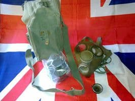 EX MILITARY ARMY BELGIAN GAS MASK