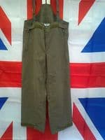 EX MILITARY/ARMY GERMAN BRACED GORTEX TROUSERS WITH REPAIR