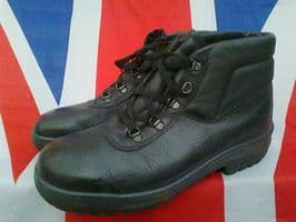 GERMAN ARMY MILITARY HERKULES BLACK BOOTS STEEL TOE CAPPED