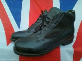 GERMAN ARMY MILITARY HERNE BLACK BOOTS