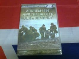 MILITARY COLLECTORS EDITION 2 DISC SET ARNHEM 1944 & THE BATTLES FOR NORMANDY