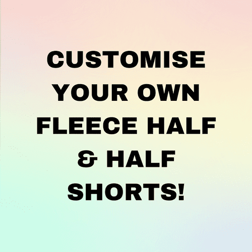CUSTOMISE HALF AND HALF - SHORTS