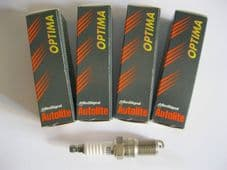 FORD FIESTA 1.3 HCS, CFI (89-96)NEW SPARK PLUGS (SET OF 4) -AUTOLITE(FORD PARTS)