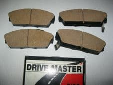 HONDA ACCORD MK3 2.0 (87-89)NEW BRAKE PADS (PAD665)
