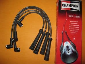 LANCIA Y10 1.4i 12v (95-)NEW TRIPLE SILICONE PERFORMANCE IGNITION LEADS