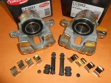 MITSUBISHI COLT, LANCER (1990-1993) PAIR OF FRONT VENTED DISC BRAKE CALIPERS