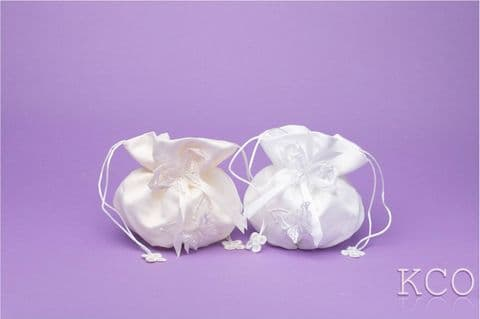 Dolly Bag Style M4851 White~ Special Occasion