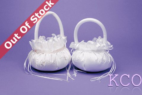 Flower Basket Style M4932 Ivory~ Special Occasion