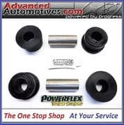 BMW E60 5 Series Saloon PFR5-711Black Powerflex Black Rear Lower Arm Rear Bushes