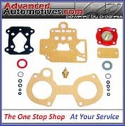 Dellorto DHLA 40 Carb Basic Gasket And Seal Service Kit For One Carb