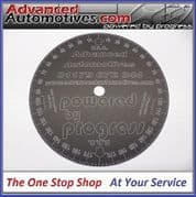 Engine Timing Degree Disc 170mm Advanced Automotive Black Anodised Aluminium