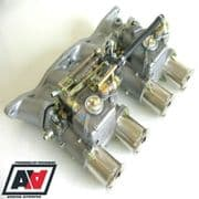 Ford Pinto 1.6 1.8 2.0 OHC Inlet Manifold & Twin Weber 45 DCOE Carburettors