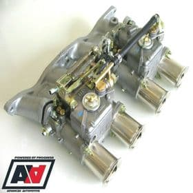 Ford Pinto 1.6 1.8 2.0 OHC Inlet Manifold & Twin Weber 45 DCOE Carburettors | Advanced Automotive