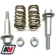 Genuine Subaru Exhaust Centre Pipe Bolts & Spring Kit Forester Turbo