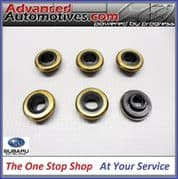 Genuine Subaru Impreza Turbo x 6 Rocker Cover Bolt Washer Seals Gaskets V1 - V4