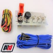 Grayston Starter And 3 Way Switch Panel Aircraft Style GE344-3