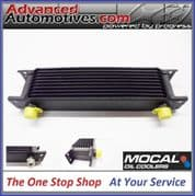 """Mocal Oil Cooler 10 Row 235mm Matrix 1/2"""" BSP Small Engine Or Transmission Uses"""