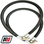 Mocal Oil Cooler Lines 33 Inch & 36 Inch Length With 1/2 BSP Fittings