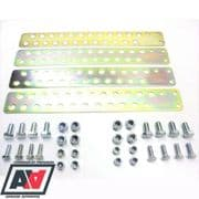 Mocal Universal Oil Cooler Mounting Brackets With Nuts And Bolts BRKT1