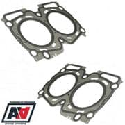 NPS Multi Layer Steel MLS Cylinder Head Gaskets For Subaru Impreza EJ20 Turbo 0.6mm