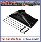 Oil Cooler Duct 19 Row with Pull Through Mounts OCD19-PK