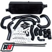 Process West Black Front Mount Intercooler Kit - VA 2015 - 2016 STI