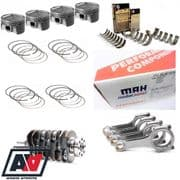 Subaru 2.3 Stroker Kit Competition Mahle Forged Racing Pistons ACL Bearings