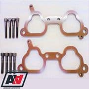 Subaru Impreza STi V7+10mm Thermal Inlet Manifold Spacer Kit