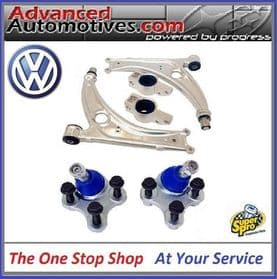 VW Superpro Front Wishbone Arm And Ball Joint Suspension Kit - ALOY0001K