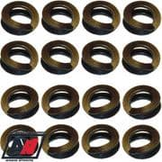 """Weber Carb 40 45 48 50 Dcoe Set Of 16 Thackery Washers For 5/16"""" OD Studs"""