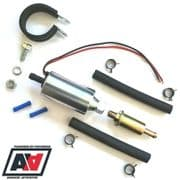 Weber Universal Fuel Pump 2.5-4.5 Psi Webcon WFP502 With Filter And Fitting Kit