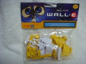 Disney Pixar Wall.E play set figures.