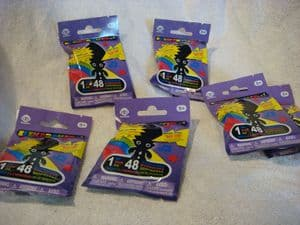 Elektrokid troll pencil toppers  6 single blind bags.