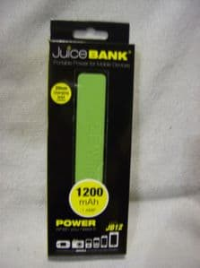 juice bank portable power for mobile devices green.