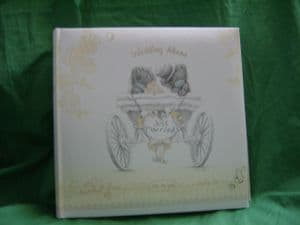 Me To You Tatty Teddy ..wedding Album in cream and gold..