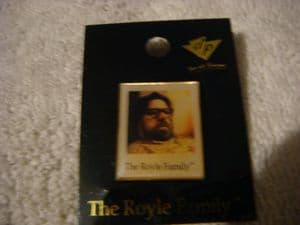 Royle Family pin badge  Dad.