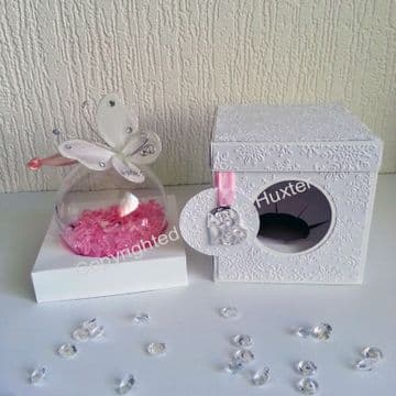 100mm Christmas Bauble/Cupcake Box with Lift off Lid