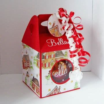 50mm Christmas Bauble/Ornament Box Template